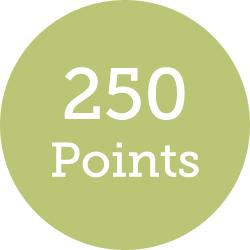 250 points