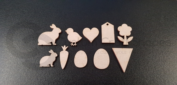 3mm Easter Embellishments Pack
