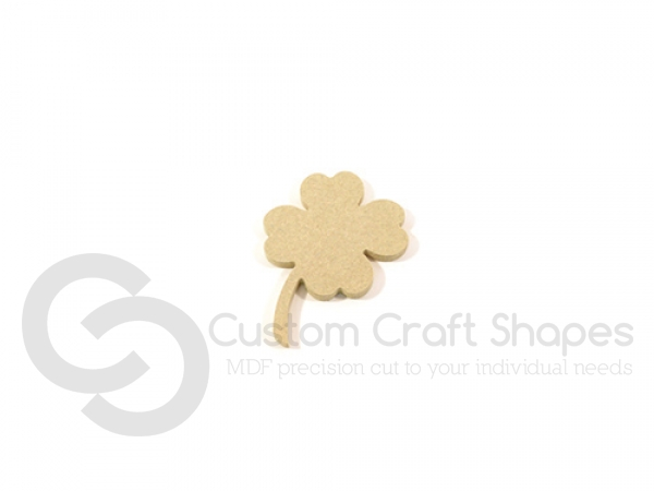 4 Leaf Clover/Lucky Shamrock (6mm)