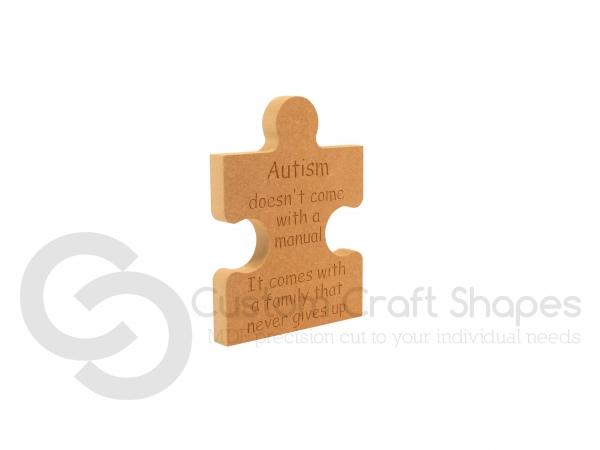 Autism Jigsaw Piece (18mm)