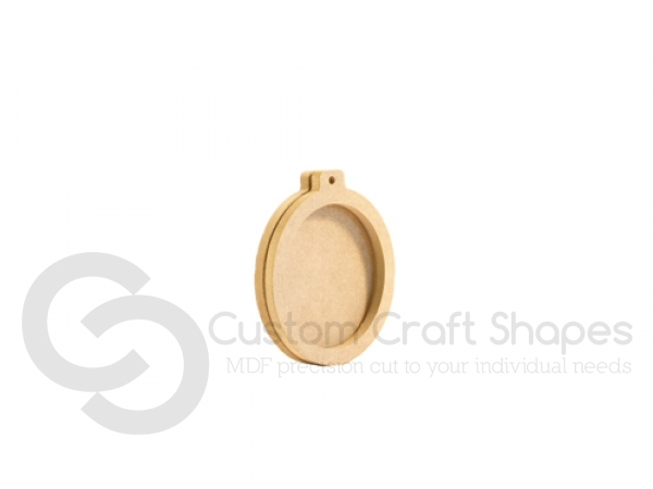 Bauble Shaped Hanging Decoration (6mm)