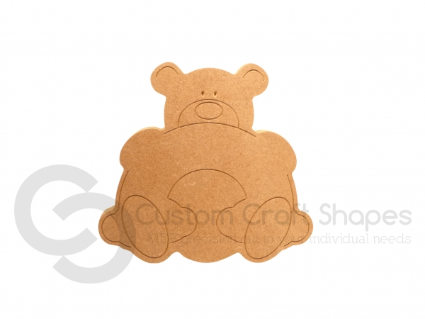 Bear Hug - Rainbow (18mm)