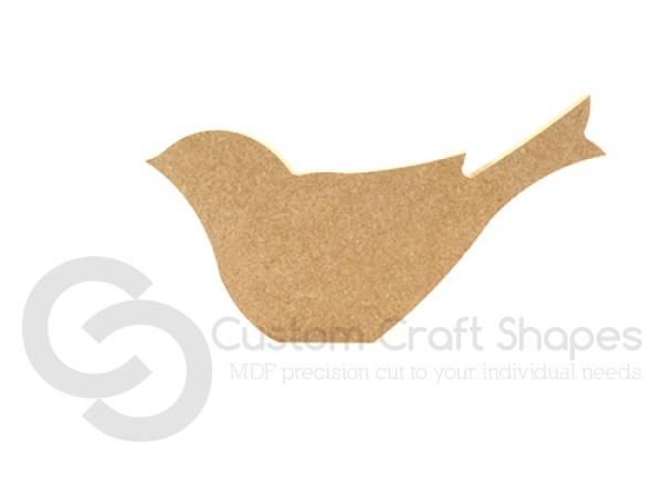 Bird Shape (6mm)