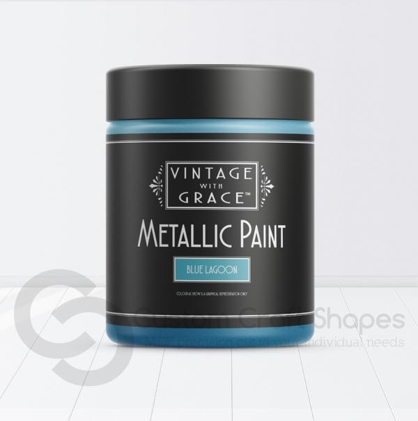Blue Lagoon, Metallic Paint, Vintage with Grace
