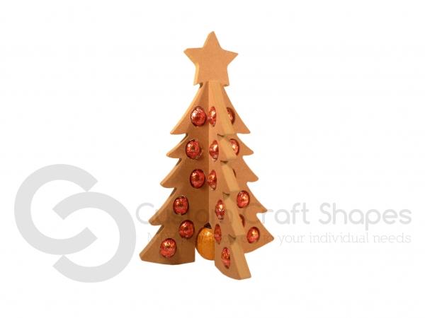 Chocolate Advent Tree (18mm)