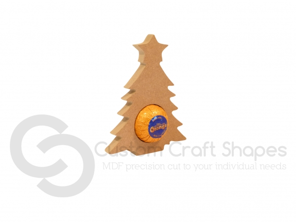 Christmas Tree Chocolate Orange Holder (18mm)