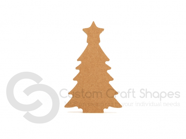 Christmas Tree with Star Shape (6mm)