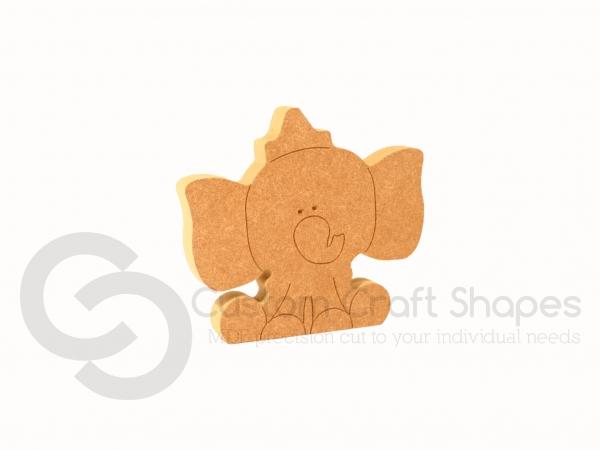 Circus Elephant Shape (18mm)