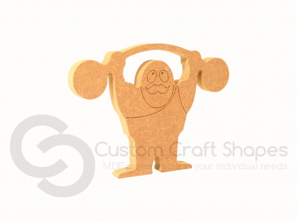 Circus Strongman Shape (18mm)
