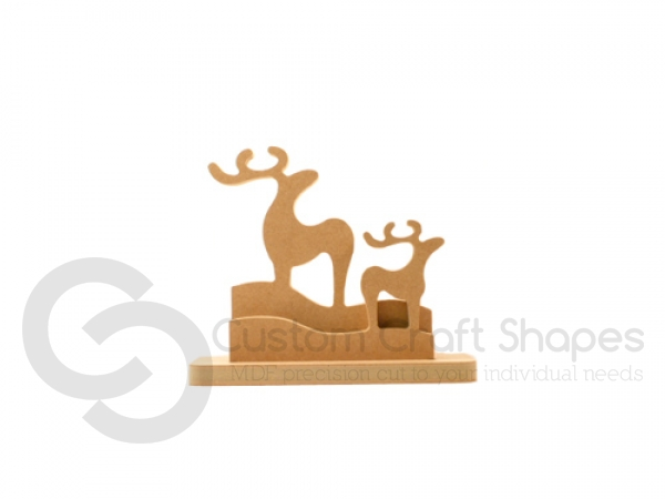 Classic Reindeer Family (18mm)