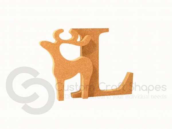 Classic Reindeer Letters (18mm)