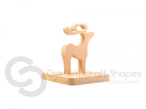 Classic Reindeer Stocking Holder (18mm)