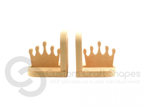 Crown/Tiara Bookends (18mm)
