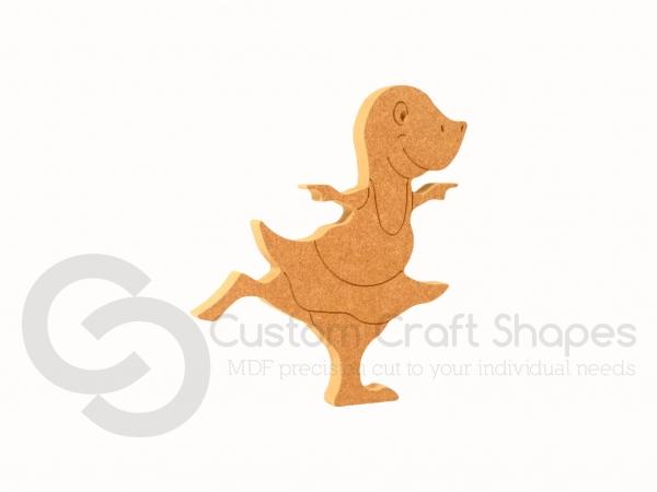 Dinosaur Ballerina (18mm)