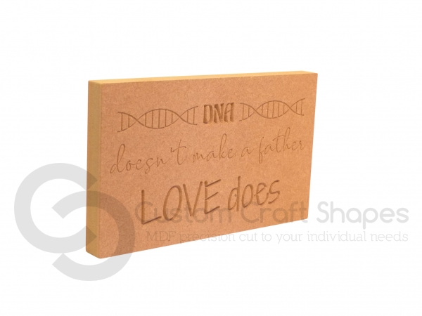 DNA doesn't make a Father... (18mm)