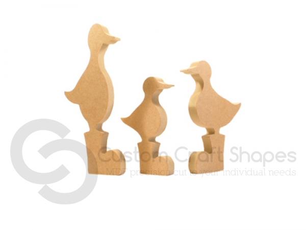 Ducks in Wellies (18mm)