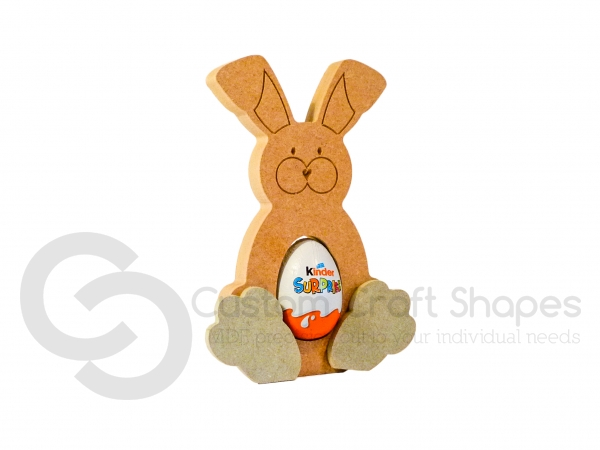 Easter Bunny Kinder Egg Holder (18mm)