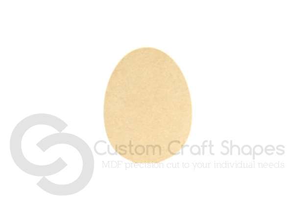 Easter Egg Shape (6mm)