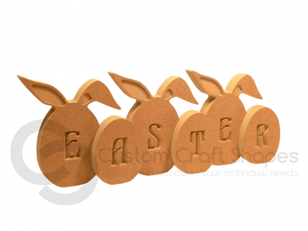 Easter Eggs with Bunny Ears (18mm)