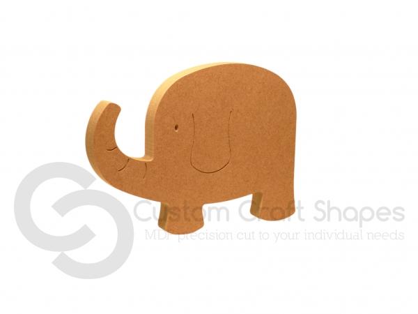 Elephant Shape - New Design (18mm)