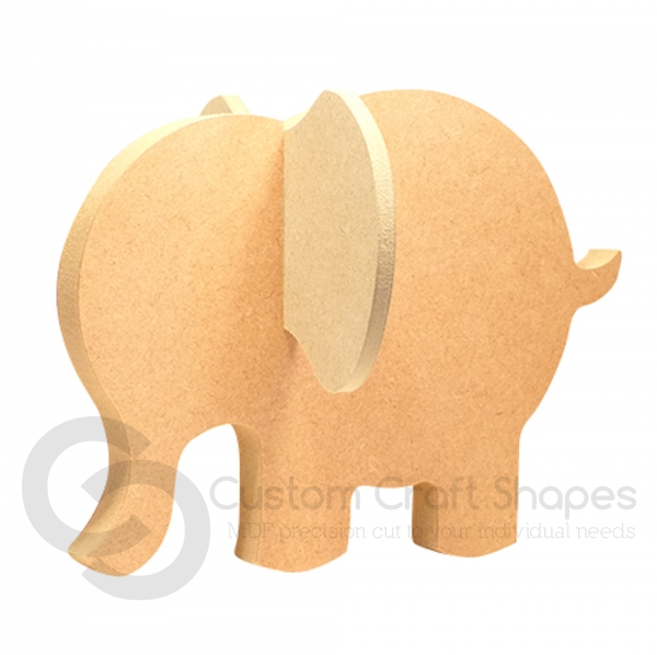 Elephant with slot in Ears (18mm)