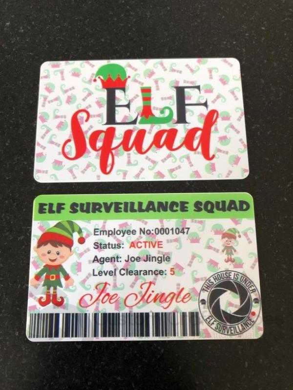 Elf BOY Surveillance Card (Plastic)