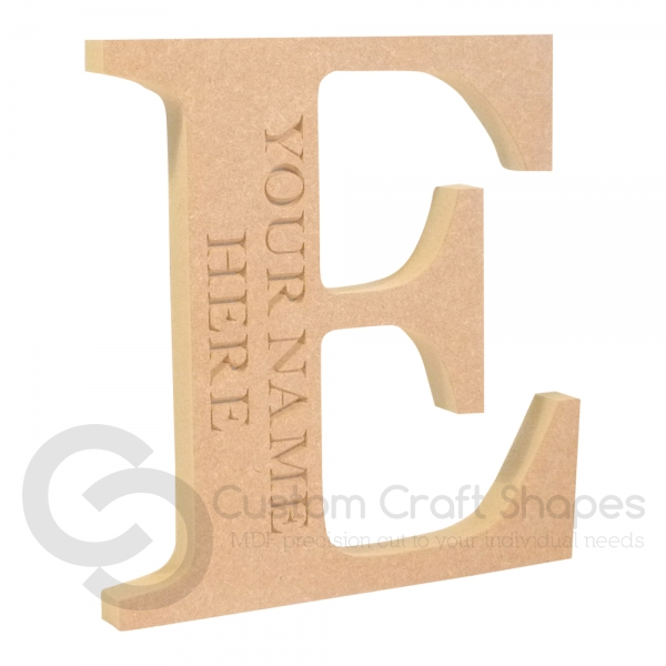 Georgian Bold Engraved Letters (18mm)
