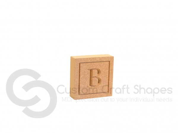 Engraved Letter Blocks (18mm)