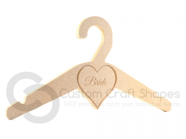 Bride Wedding Hanger (18mm)