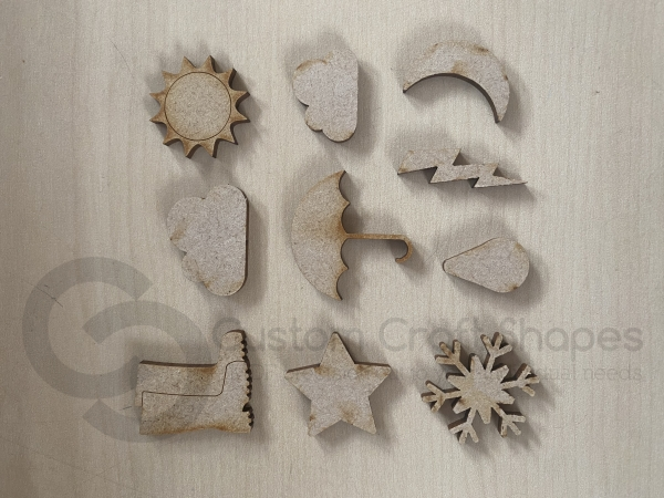 Weather Embellishments Pack (3mm)