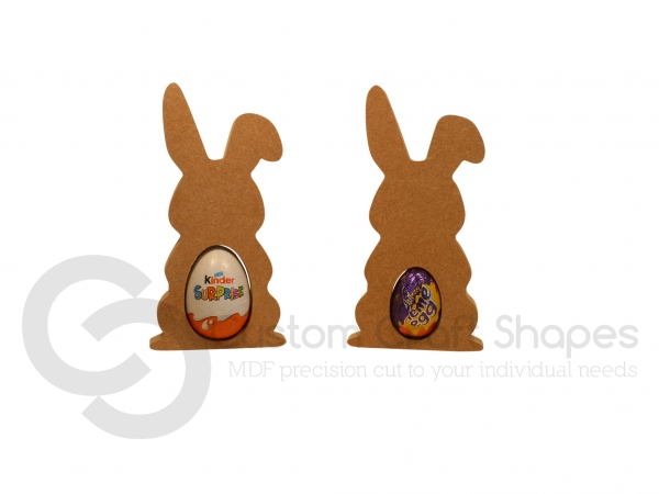 Floppy Eared Bunny Kinder/Creme Egg Holder (18mm)
