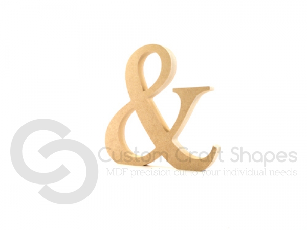 Ampersand (&) Times New Roman Font (18mm)