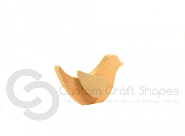 Bird with Single Wing (18mm)