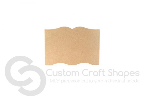 Freestanding Book Shape (18mm)