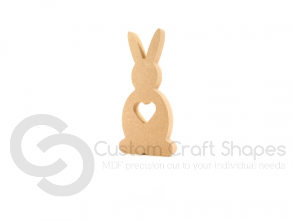 Bunny with Heart (18mm)