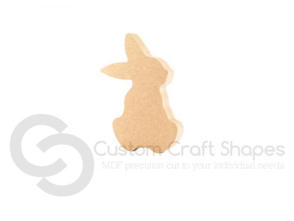 Cartoon Rabbit, Sitting (18mm)