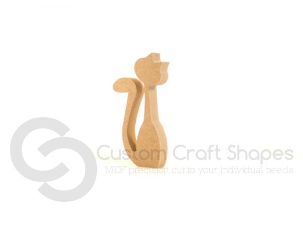 Cat Shape, Long Neck (18mm)