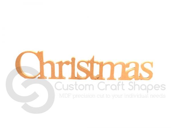 Christmas, Times New Roman Font (18mm)
