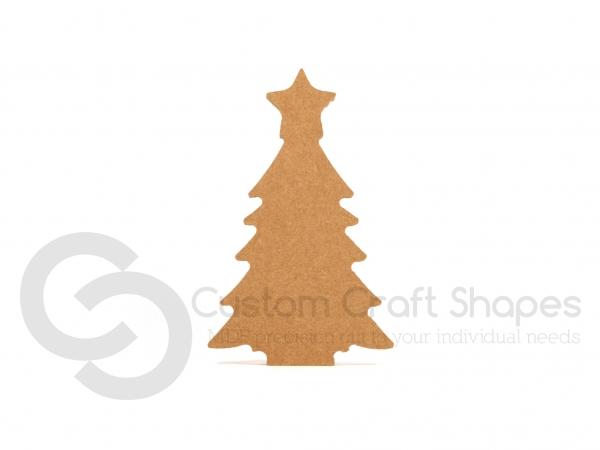 Christmas Tree Shape, Freestanding (18mm)