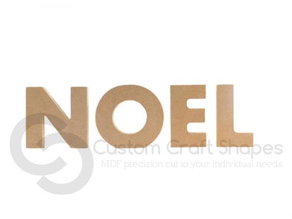 Freestanding Chunky font Noel (18mm)