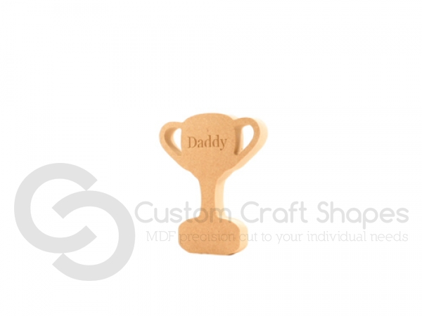 Daddy Trophy, Freestanding (18mm)