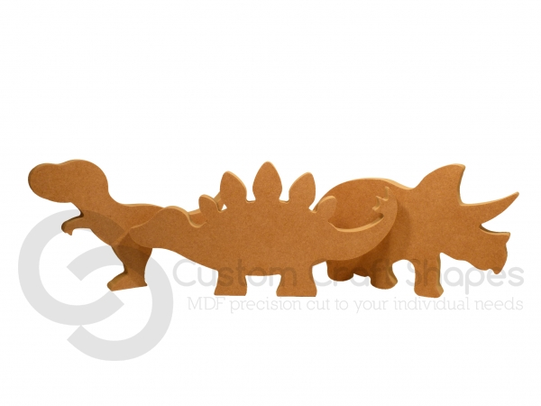 Freestanding Dinosaurs (18mm)