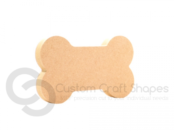 Dog Bone Shape, Freestanding (18mm)