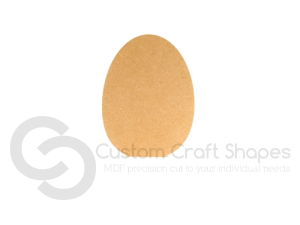 Easter Egg Shape, Freestanding (18mm)