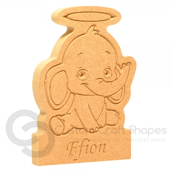 Elephant with Halo, on a plinth (18mm)
