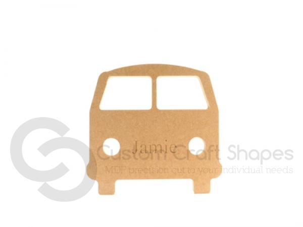 Camper Van, personalised (18mm)