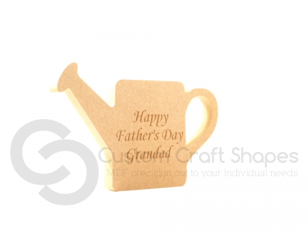 Freestanding Engraved Watering Can (18mm)