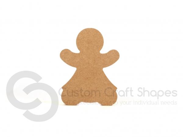 Freestanding Gingerbread Woman (18mm)