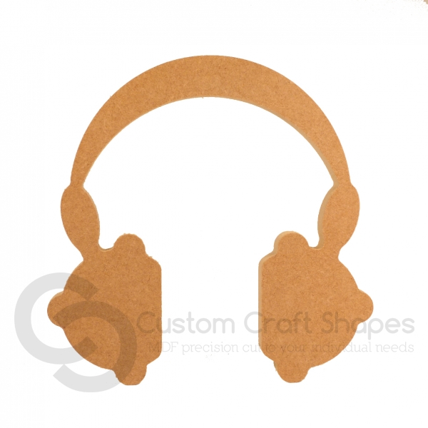 Headphones Shape, Freestanding (18mm)