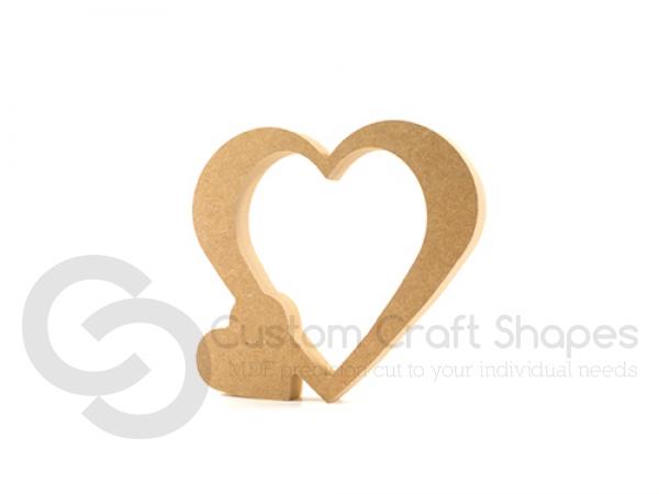 Freestanding Heart (18mm)